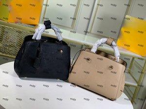 Bag PVC Designers Handbag Womens Luxurys Bags Flower 2021 Female Ladies Casual Handbags Tote Leather Shoulder Bags Tote Big Purse Purse Dfga