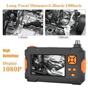 Industrial Endoscope électronique de poche Borescope HD 1080P conduite sous-marine Micro inspection caméra portée avec écran de 4,3 pouces d'affichage
