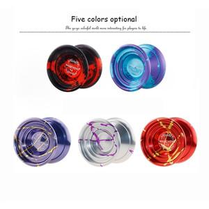 Sihirli YOYO 59.51mm Büyük Çap Leopar Kafa Alaşım Profesyonel Rekabet Fantezi Yo-yo Çocuk Klasik Oyuncaklar Y200428
