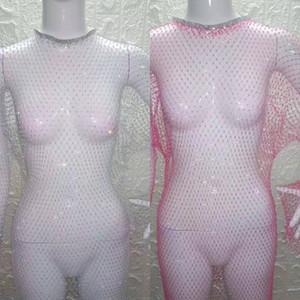 Riqr 섹시한 다이아몬드 여성 레이스 브래지어 세트 럭셔리 여성 속옷 섹시한 숙녀 파티 나이트 클럽 브래지어 팬티 블랙