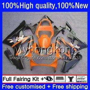 OEM For HONDA Orange black CBR900RR CBR 929RR 900RR 929CC 2000 2001 50HM.79 CBR900 RR CBR 900 929 RR 900CC CBR929RR CBR929 RR 00 01 Fairing