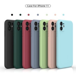 Silicone Shockproof Phone Cases For iPhone 7 8 6 6S Plus X XS Max XR 11 Pro Max Clear Soft Fine Hole Cover New