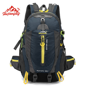 Escalada Waterproof Backpack Sports Mochila 40L Outdoor Travel Bag Backpack Camping Caminhadas Backpack Mulheres Trekking Bag For Men C1008