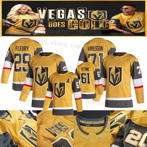 William Karlsson Jersey 2020-21 Oro alternativo Vegas Golden Knights Ryan Reaves Marc-Andre Fleury Mark Stone Marchessault Tuch Nosek Smith