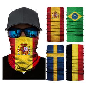 야외 스포츠 FacsShield 자전거 FacsShield 등산 디지털 인쇄 깃발 여성들의 머리 수건 착용 매직 터번 여성들의 머리 수건 착용 원활한 마스크 XD24064
