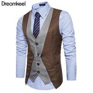 2021 Dreamkeel Mens Costudes Vest Nouveau Homme Top Boys Populaires Vente Mode Business Wear Hommes Gilet Vêtements Vêtements Chaude Vente Y1
