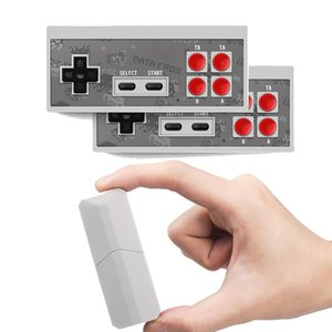 Wireless Handheld Game Console Can Store 600 Classic Games 8 Bit Retro Video Games Consoles Portable Game Players Game Box With Dual Gamepad