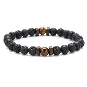 New vintage Men Bracelet Natural Moonstone Bead Tibetan Buddha Bracelet chakra Lava Stone Diffuser Bracelets Men Jewelry gift Drop Shipping