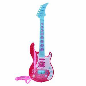 Pop 4 Strings Guitar Simulation Ukulele Children Baby Educational Wisdom Development Gift Kids Musical Instrument Toys Gifts C1016
