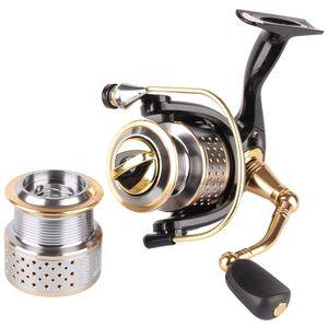 Rosewood fiação de pesca carretel de pesca 1000 2500 series 8 + 1 bolas de rolamento 5.2: 1 rodas profissionais Equipamento de pesca