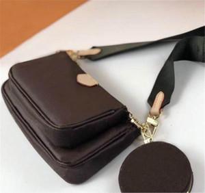 Designer Luxury Handbag Purse Flower Shoulder Crossbody Bag Multi Pochette 3 Pcs Evening Bag CFY2003061*8