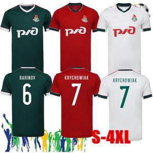 2020 2021 S-4XL LOKOMOTIV MOSCOW SOCCER JERSEY BLIGN 20 21 Miranchuk Zhemaletdinov Smolov Krychowiak Barinov Football shirts