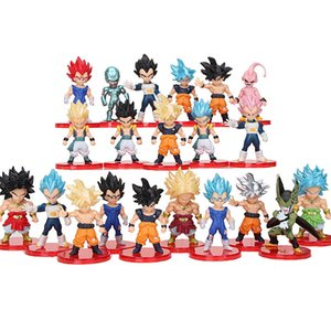 21pcs set 7cm Anime Figure PVC Action Figure Model Toys 201202