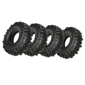 4 Neumáticos Piezas 01:10 Rock Crawler Axial para SCX10 CC01 RC4WD D110 HSP Redcat neumático del coche de RC