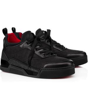 Знаменитые бренды Aurelien кроссовки Кроссовки высокое качество Edveroo Trainer роскошный дизайнер мужчин красные нижние кроссовки идеальные повседневные ходьбы