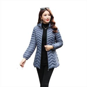 Winter Women Warm Basic Jacket Female Slim Brand Cotton Parkas Autumn New Casual Hooded Long Sleeve Zipper Pocket Coat Size 6XL