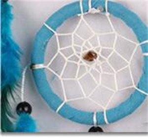 Natural Pena Dream Net Catcher Handmade Faça do Vento Chime Azul Parede Pendurado Mobiliário Home Decore Ornamento Delicado Venda Quente 11 5jy