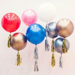 1pcs Helium Bobo Balloons 18 22 32 Inch Metallic Chrome Balloon Birthday Party Decoration Air Ballons Wedding Decor Favors