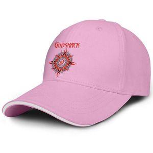 Godsmack music band logo red man and woman sandwich hat baseball design design custom hat sports fashion baseball custom cap best or