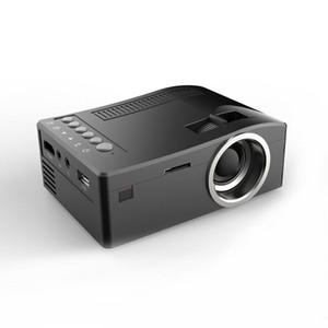 New Unic UC18 Mini-LED-Projektor-bewegliche Taschen-Projektoren Multimedia-Spieler-Heimkino-Spiel unterstützt HDMI USB