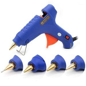 60W Heißklebepistole Kleine Durchmesser 1mm Kupferdüse Schmelzpistole Kleine Blende Haushaltsanleitung Klebstoff DIY1