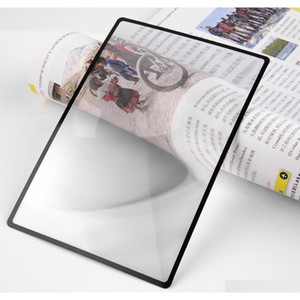 180x120mm convinient a5 flat pvc magnifier sheet x3 book page magnification magnifying reading glass lens brand new sQd92