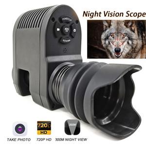 Integrado projeto Megaorei3 Night Vision Scope para Rifle Optical visão do telescópio caça Camera NV007 pode tirar foto e vídeo