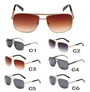 5 adet Yaz Yeni Kadın Metal UV Güneş Gözlüğü Moda Güneş Gözlüğü Sürüş Güneş Glasess Bayanlar Marka Adam Plaj Bisiklet Gözlük Ücretsiz Kargo
