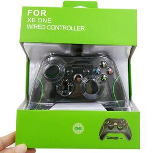 Xbox One Wired Gamepad Precise Thumb Gamepad Joystick for Xbox One para Microsoft X-Box Controller Transporte rápido