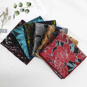 Linbaiway Colorful Square for Mens Suits Wedding Handkerchief Male Tuxedo Chest Pocket Towel Hanky Accessory