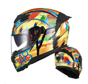 Jiekai helmet g motorcycle full face helmet men's racing motorcycle winter anti-fog female four seasons double mirror gray full face hel