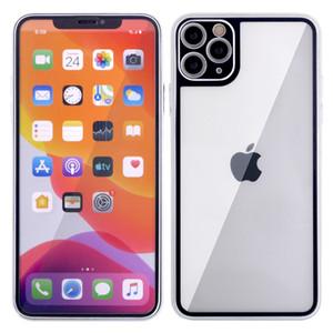 Para iPhone 12 Pro Max Mini Glass 11 XS XR X 8 7 PLUS FRENTE FRENTE FRENTE DE FRENTE DE 2 PIEZAS PROTECTOR DE PANTALLA COMPLETO PROTECTOR ANTI-DIENTEPRINT