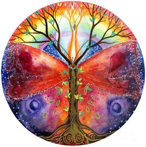 JMINE Div 5D Mandala Flower tree butterfly Full Diamond Painting cross stitch kits art Floral 3D paint by diamonds