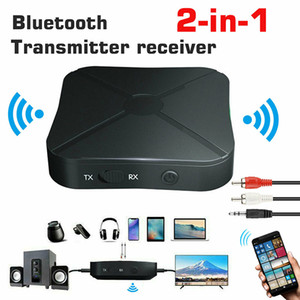 Bluetooth Transmitter and Receiver Adapter 2 in1 Wireless Bluetooth 4.2 Audio Portable Audio Player Adapter Aux 3.5mm