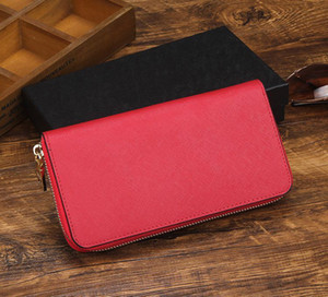 Hot sale Brand fashion ladies single zipper cheap wallets women pu leather PRD designer wallet lady ladies long purse #080 jerseyproshop