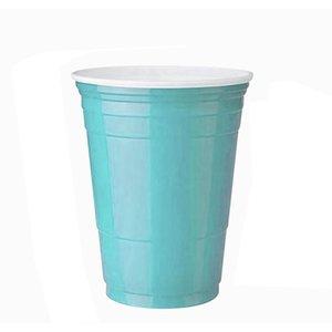 10pcs Set Party Cup Bar Restaurante Suministros de restaurantes Artículos para el hogar para suministros para el hogar 450 ml Taza de plástico desechable roja F F JLLLGPK