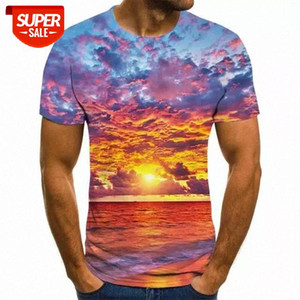 Men's Starry Sky black hole 3D Print Cool Funny T-Shirt Men Short Sleeve Summer Tops T Shirt Male Fashion 3d T-shirts Male Tees #mh02