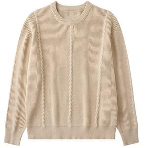 Известные мужские свитера мужские высокого качества хлопка Cozy Длинные рукава свитер Мужчины Женщины стилистом Пуловеры Кофты