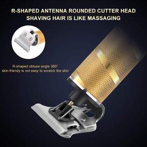 Pro Li T-Структуризатор Парикмахерская Электрический Профессиональные Аккумуляторный триммер волос мужчин 0mm напролом Машинка для стрижки волос Машинки для стрижки