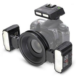 Speedlite ماكرو التوأم فلاش كيتل عالية السرعة تزامن Meike -MT24 Speedlite كاميرا فلاش المهنية Macro1