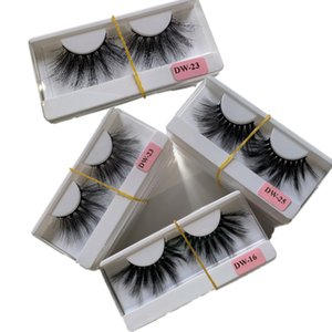 20 styles 25mm 3D Mink Eyelash Eye makeup Mink False lashes Soft Natural Thick Fake Eyelashes Eye Lashes Extension