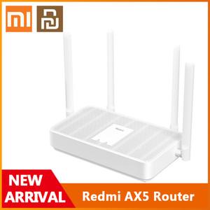 Xiaomi Youpin Original Redmi Router AX1800 WiFi 6 1800 Mbps 256MB RAM 2.4G 5G Dual Frequency Mesh Network AX5 4 Antennas