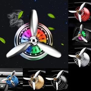 Aromatherapy Home Эфирное масло диффузор для автомобильного воздуха Освежитель парфюмерных флакон медальологический клип со светодиодной светлой бесплатной доставкой 14 G2