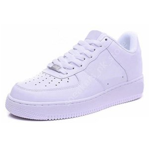 Nike Air Force one 1 Af1 Men Running Shoes des chaussures High Low Triple White Black Brown sandal Outdoor Sports Women Mens Trainers Sneakers 36-45