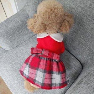 Luxe Chien de Poméranie Vêtements d'hiver Princesse Autumn Party Costumes d'Halloween pour les petits animaux Petit Moyen chat Robes roquets
