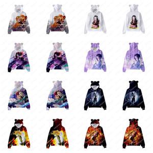 Demon Slayer: Kimetsu No Yaiba Gato Orears El suéter infantil con capucha Girls Suéter Fábrica Venta directa Venta rápida Alta Cailly