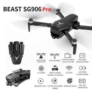 SG906PRO GPS Drone 4K ESC câmera com dois eixos-anti-shake auto-estabilização cardan Professional Brushless Quadrotor SG906 Pro