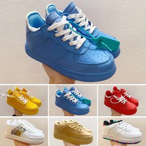 Force 1 Enfants Classic 1 Designer Chaussures Haute Coupée Enfants Boucle Chaussures Chassures One Enfant Sneakers Enfant Basketball Baskets EUR22-35