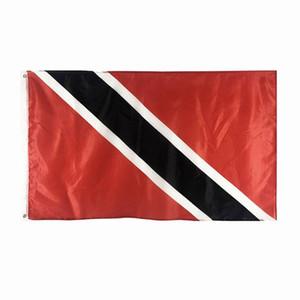 ترينيداد العلم عالية الجودة 3X5 FT حزب راية مهرجان 90x150cm الوطني هدية 100D البوليستر داخلي في الهواء الطلق أعلام مطبوعة والرايات