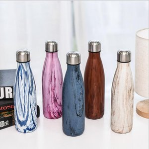 Tumblers Women Cola Water Bottle GrainedS Tumblers tainless Steel Tumbler Outdoor Sports Coffee Mugs Insulated Cups Accessories AHB2275